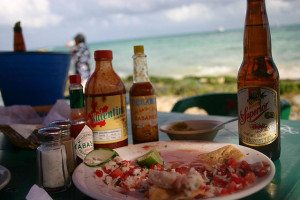 Ceviche on the Gulf Of Mexico